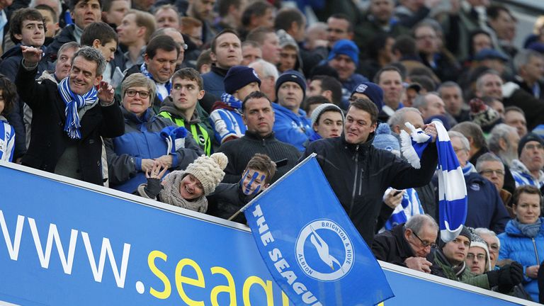 Brighton fans: Report going in to FA