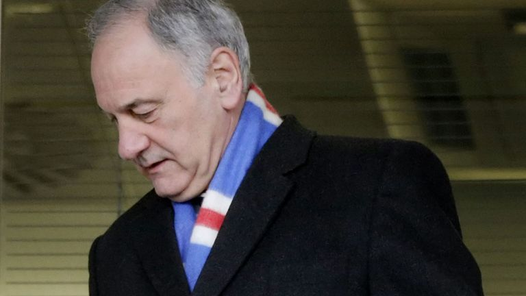 Charles Green: Fronted consortium which bought oldco Rangers' assets