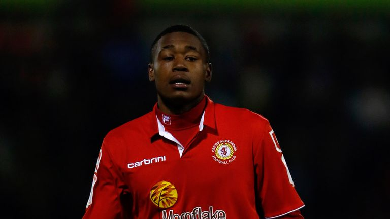 Chuks Aneke: Could return to Crewe
