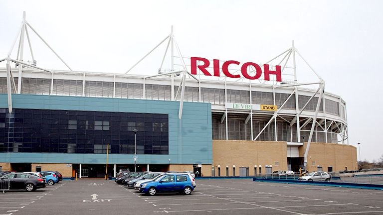 Ricoh Arena: Sale process close to completion
