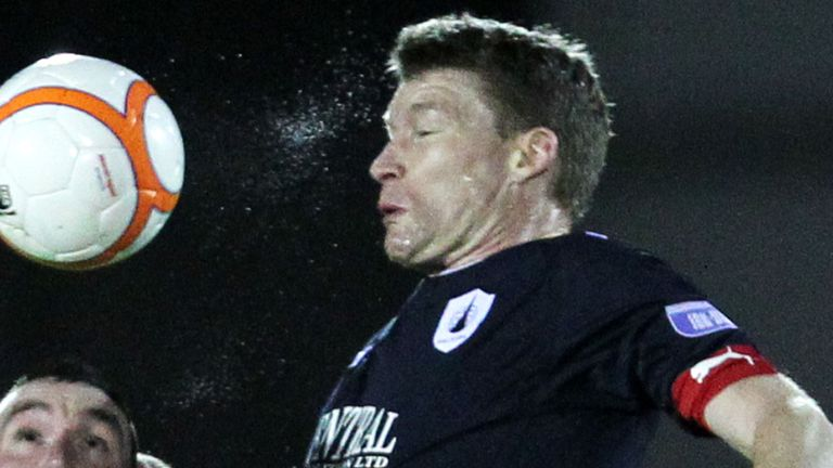 Darren Dods signed off with victory for Falkirk
