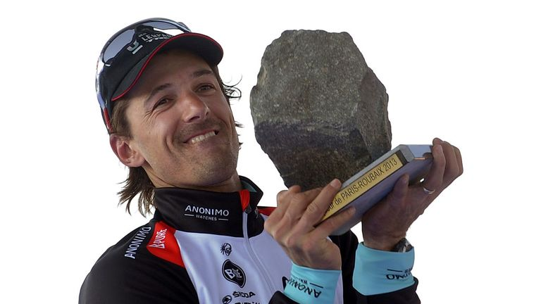 Fabian Cancellara won Paris-Roubaix and the Tour of Flanders