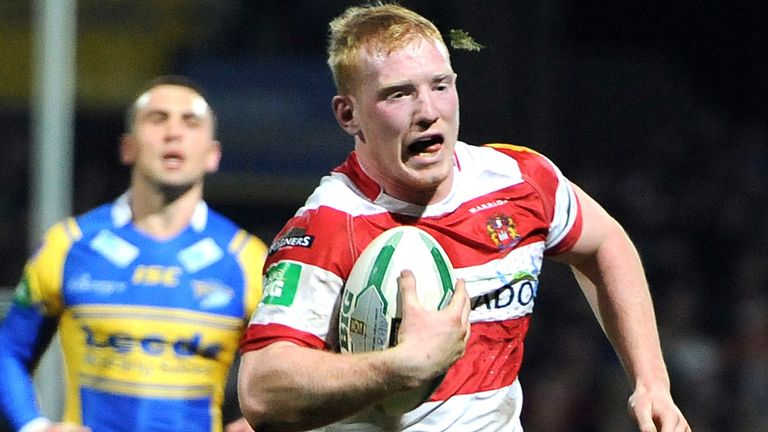 Liam Farrell: Has agreed a new five-year deal with Wigan Warriors
