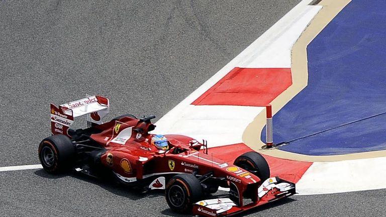 Fernando Alonso: Fastest in final practice in Bahrain