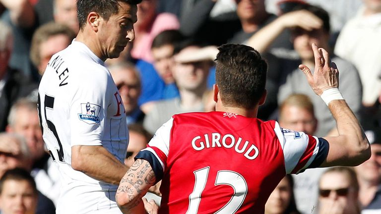 Olivier Giroud: Arsenal have appealed against striker's red card at Fulham