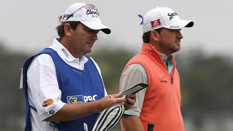 Ken Convoy and Graeme McDowell: sizing up the next yardage