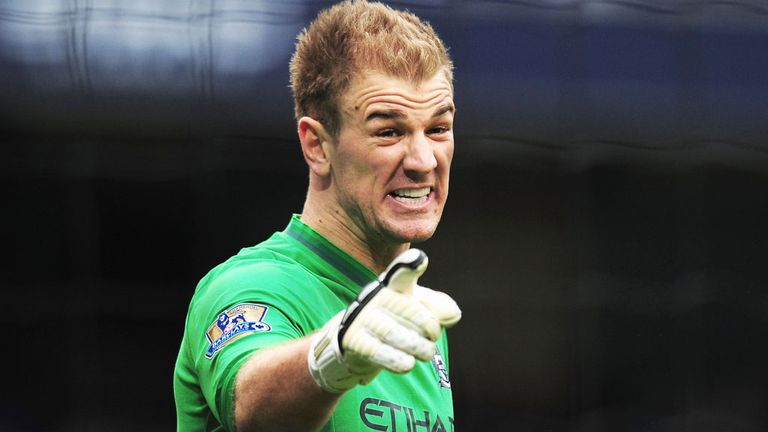 Joe Hart: Backed by Manchester City team-mate Joleon Lescott