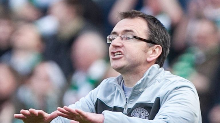 Pat Fenlon: His half-time dressing down revived Hibernian