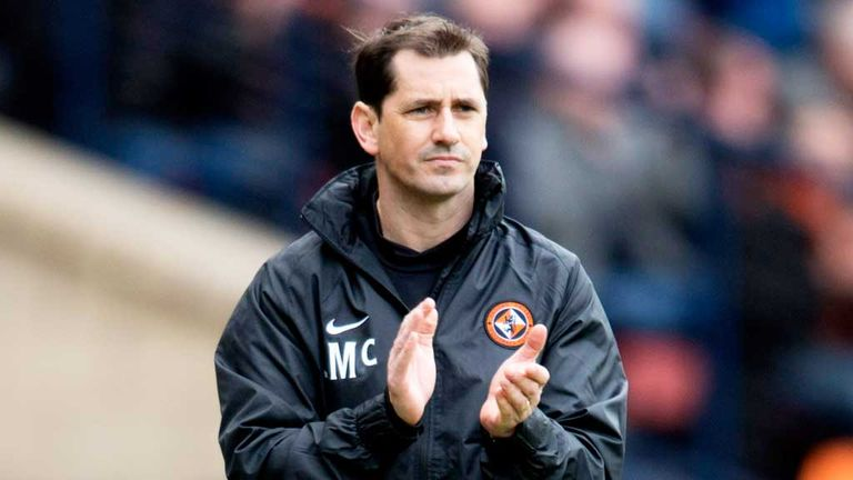 Jackie McNamara: Thought his side were exceptional.