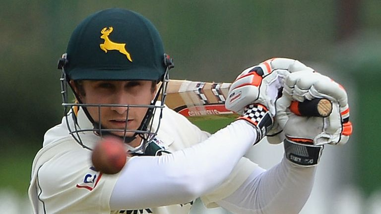 James Taylor: Started his career at Leicestershire before moving to Trent Bridge