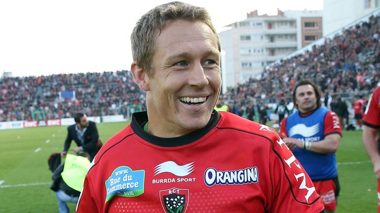Jonny Wilkinson: Has signed a new one-year contract with Toulon