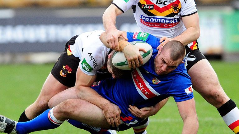 Justin Poore: warned about his ill-discipline by Wakefield coach Richard Agar
