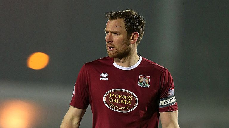 Kelvin Langmead: Extends Cobblers stay