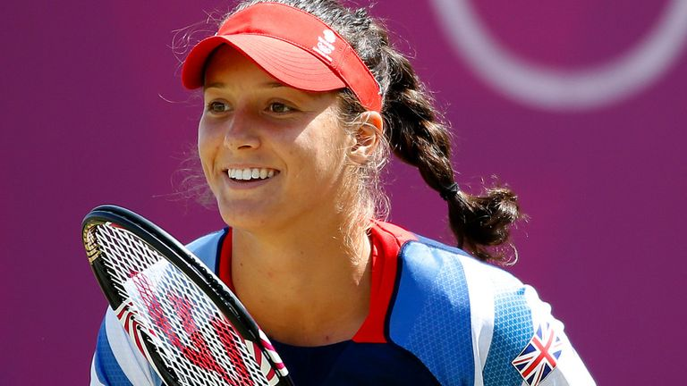 British No 1 Laura Robson will compete at Birmingham WTA event