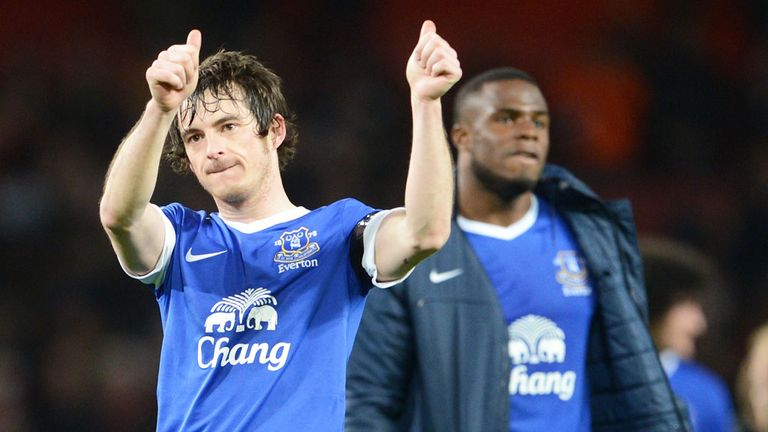 Leighton Baines: Confident of beating Liverpool