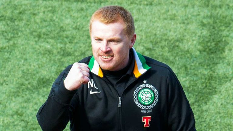 Neil Lennon: Led Celtic to the SPL title this season