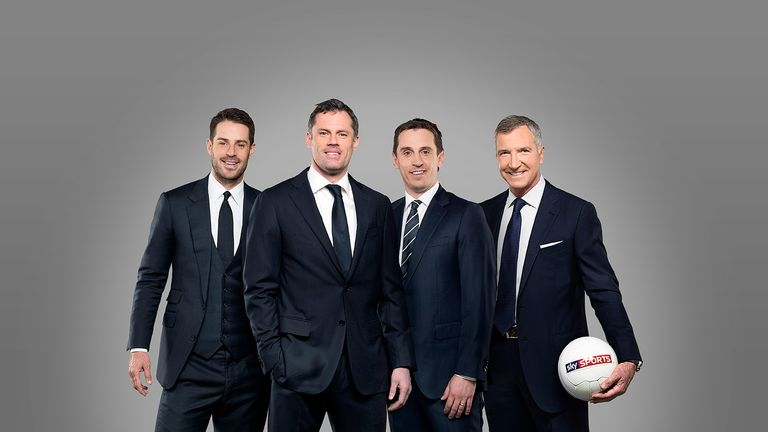 Carragher: joining Redknapp, Neville and Souness on the Sky Sports team