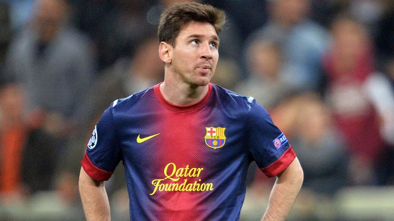 Lionel Messi: Sat on bench as Barcelona crashed out to Bayern