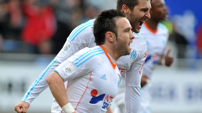 Mathieu Valbuena: Scored the winner for Marseille