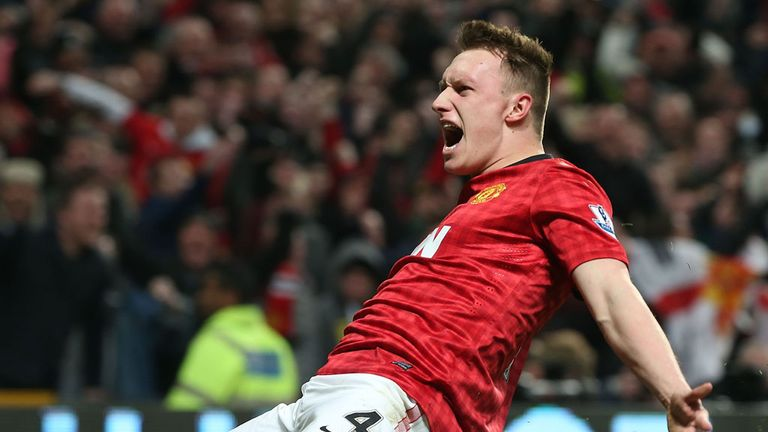 Phil Jones: Revelling in Manchester United¿s title-winning success