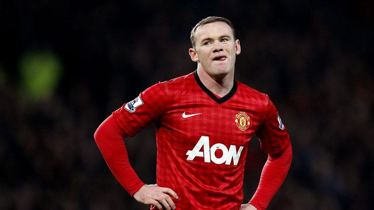 Wayne Rooney: Linked with United's rivals Arsenal and Chelsea