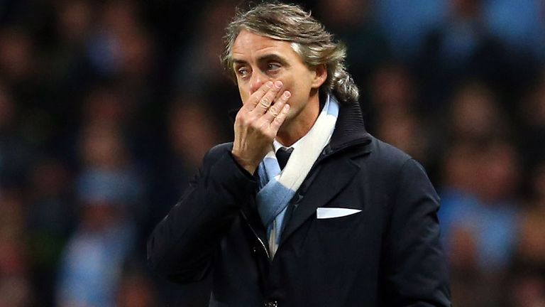 Roberto Mancini claims winning the FA Cup and finishing second would represent a good season