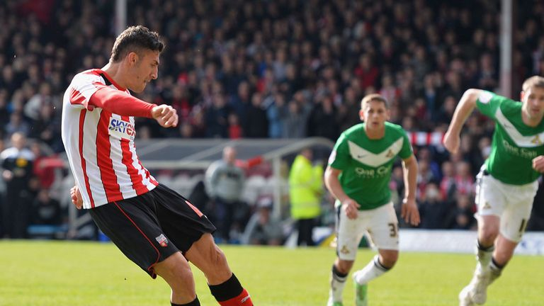 Marcello Trotta: Wants to help Brentford and break into the Fulham team