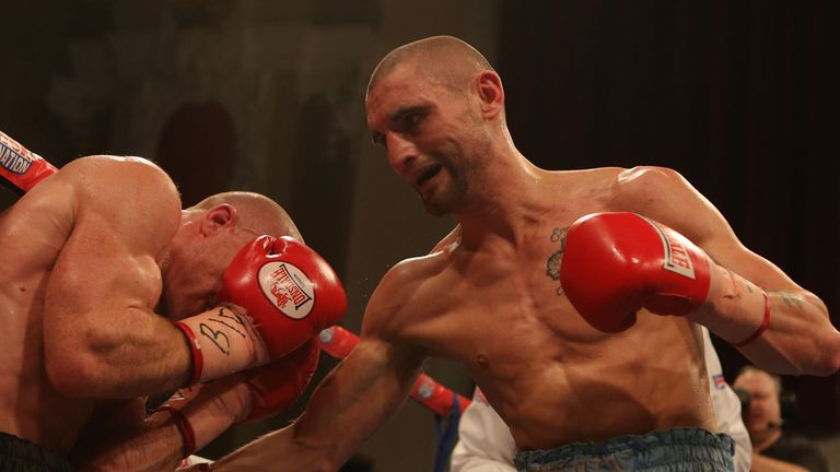 Martin Gethin: Possibly one fight away from a world title shot