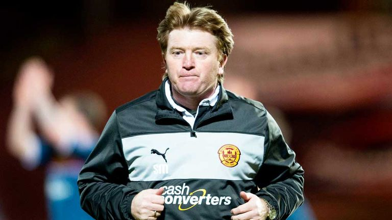 McCall: his Motherwell side edged Hibernian in their Scottish Premiership opener