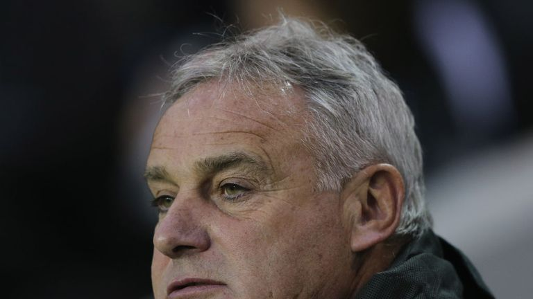 Dave Jones: Not happy with his players