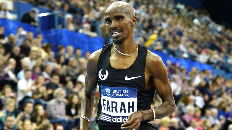 Mo Farah expected to take part in London Marathon on Sunday