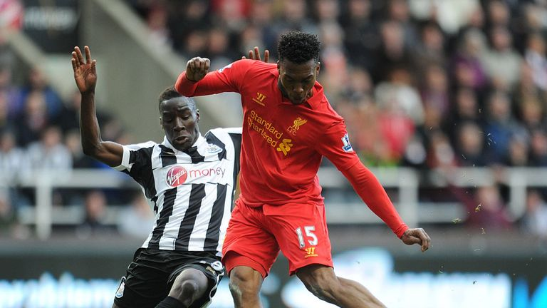 Daniel Sturridge: Scored twice in Liverpool's 6-0 win over Newcastle