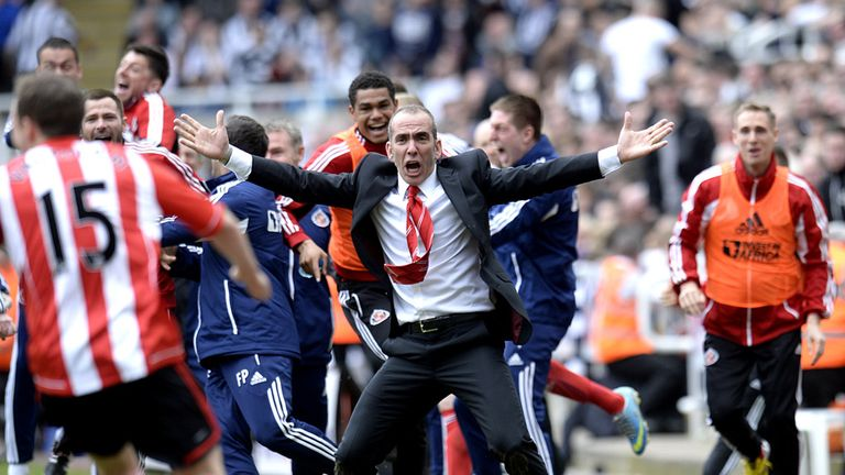 Joyous scenes for the Sunderland staff at St James' Park on Sunday