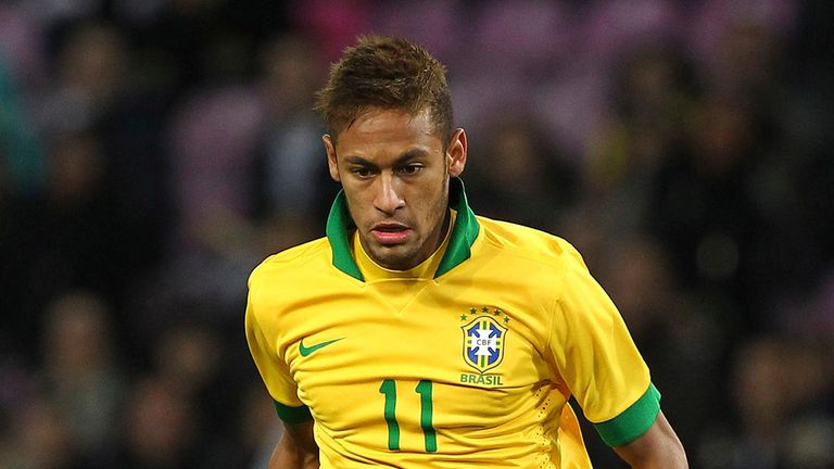 Neymar: Weighing up offers from Barcelona and Real Madrid