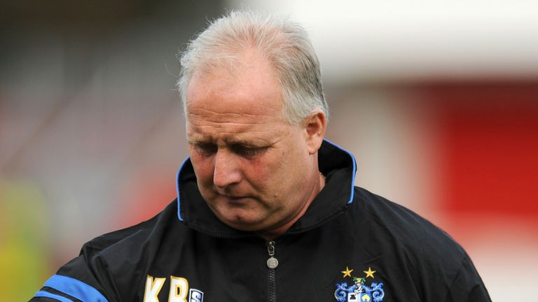 Kevin Blackwell: sacked by Bury after defeat