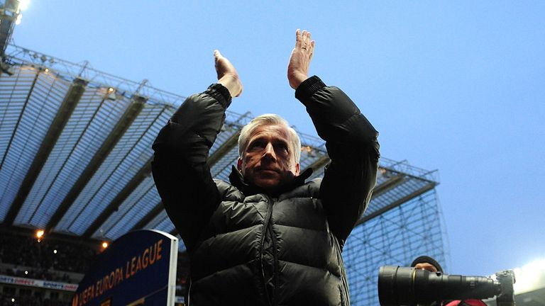 Alan Pardew: Endured an agonising finale to the Premier League season