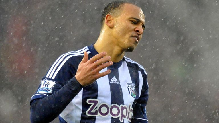Peter Odemwingie: No offers for wantaway West Brom striker
