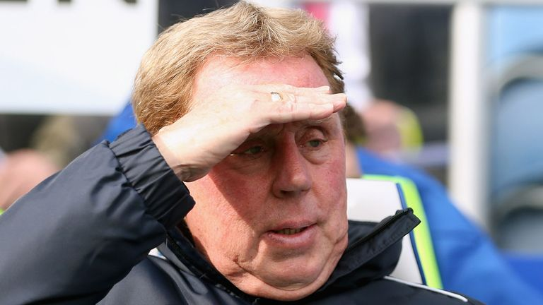 Harry Redknapp: must have thought three points were within sight