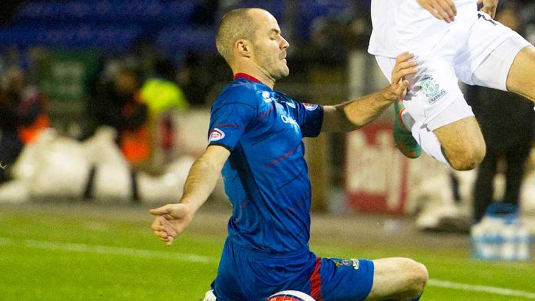 David Raven has been a steady performer for Inverness Caley this season