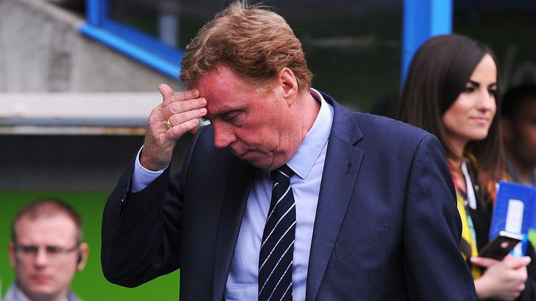 Harry Redknapp: Feeling the strain last season