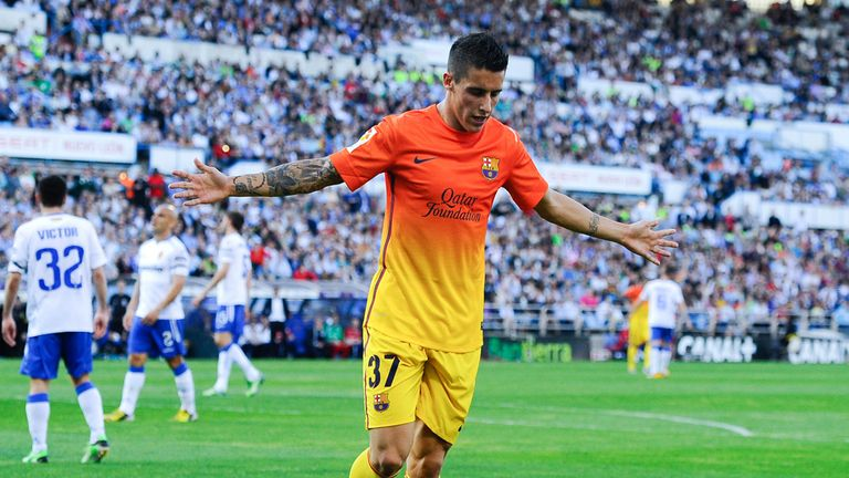 Cristian Tello: Extends Barca stay