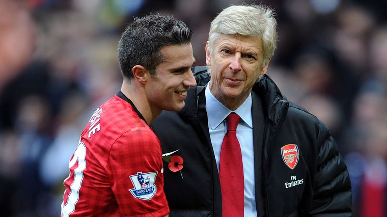 Robin van Persie may line up against former club Arsenal