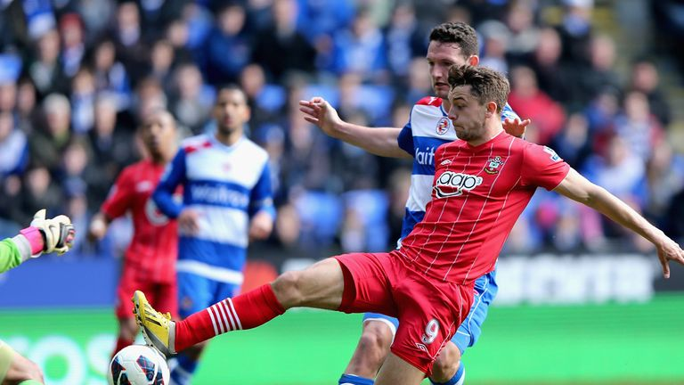 Jay Rodriguez: Says he only had eyes for the ball as he scored for Southampton at Reading