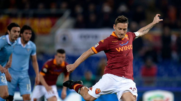Francesco Totti: Hopes for success against Lazio