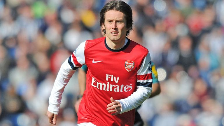 Tomas Rosicky: Confident Arsenal can end their wait for silverware this season