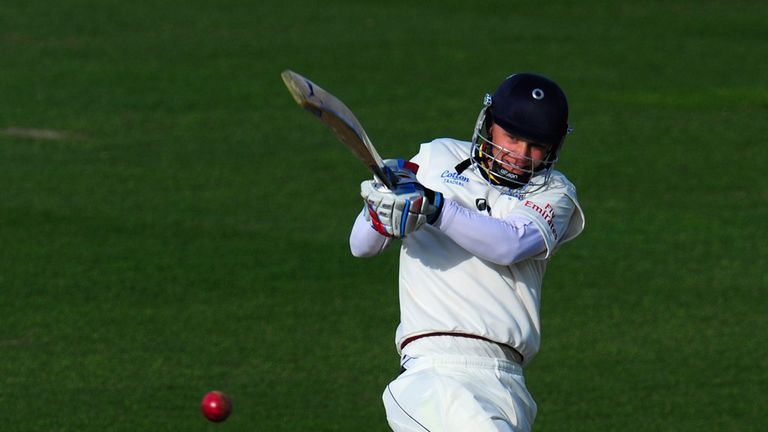 Scott Borthwick: Helped Durham into a strong position before rain arrived