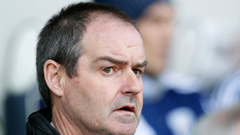 Steve Clarke: Felt that his side created enough chances whilst playing against ten men