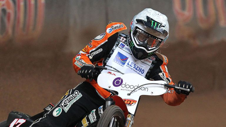 Tai Woffinden: Joined by Craig Cook in GB team