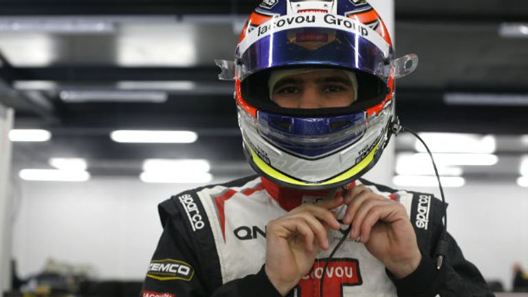 Tio Ellinas: Will carry out an aero test for Marussia (Image: GP3 Series Media)