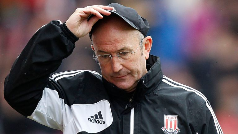Tony Pulis: Under pressure after just one win in 14 games